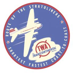 Trans World Airlines Sticker