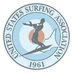 United States Surfing Association Sticker