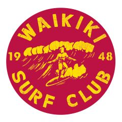 Waikiki Surf Club Sticker