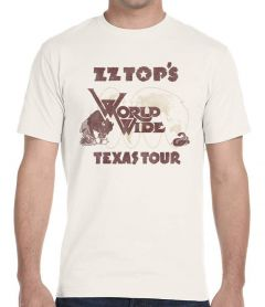 ZZ Top World Wide Texas Tour 1977