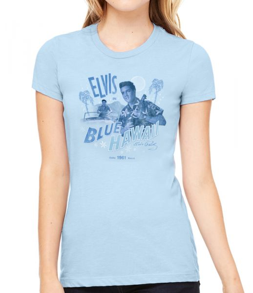 Elvis in Blue Hawaii Women's T-Shirt