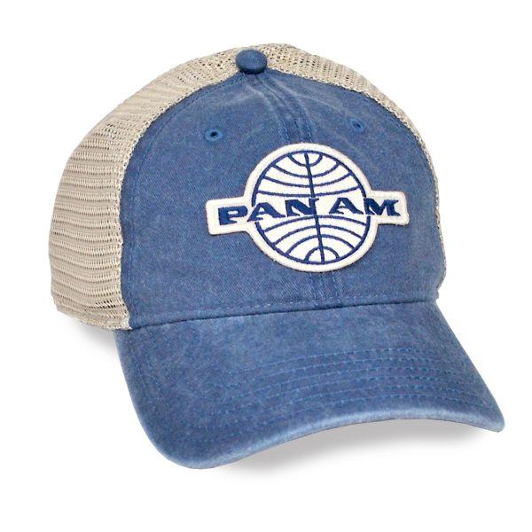 Pan Am Snapback Mesh Cap